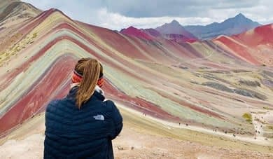 Rainbow Mountain trek, Cusco Peru
