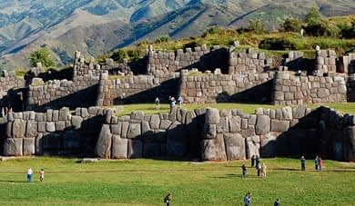 Inca Ruins near Cusco´s city
